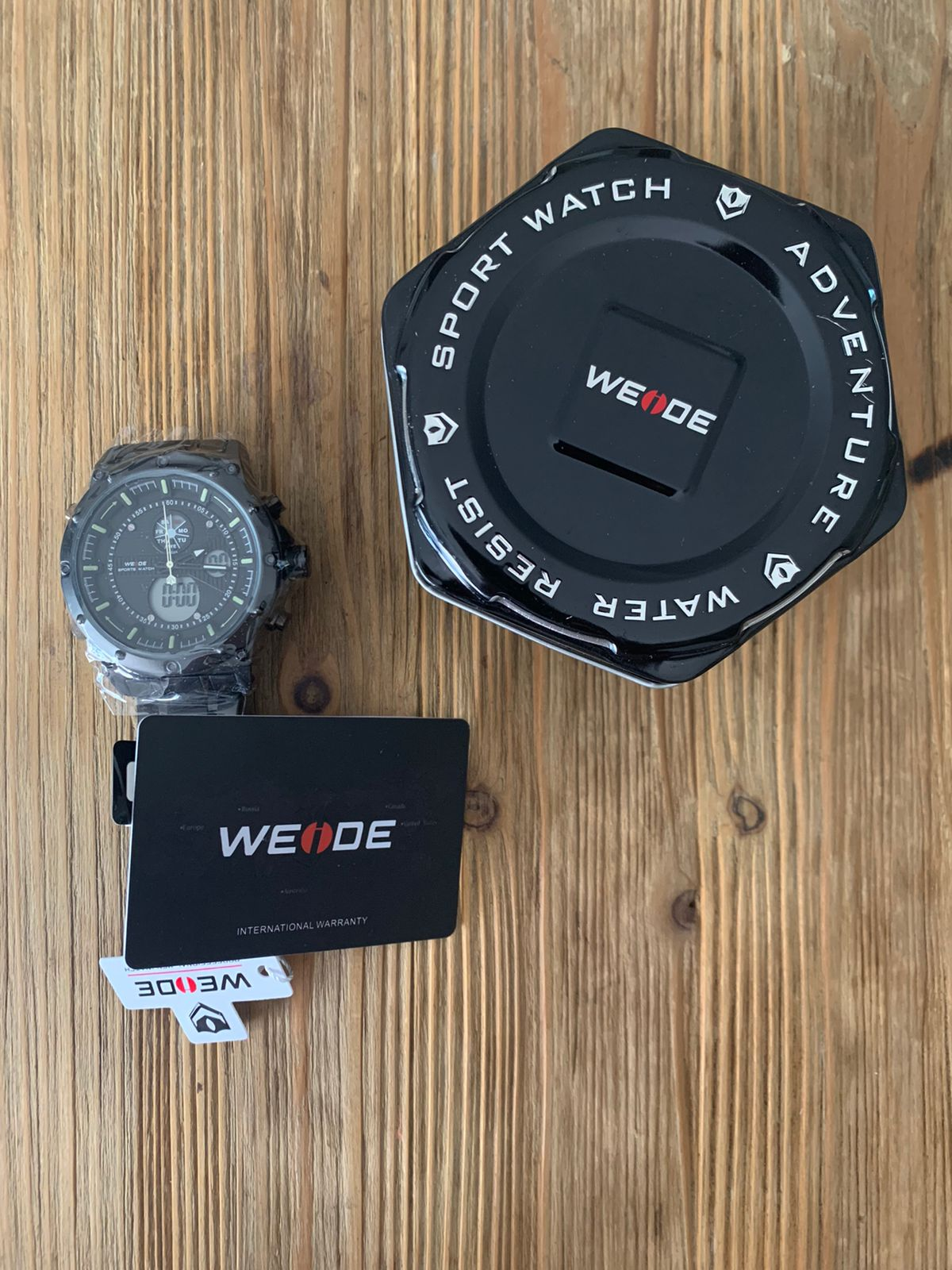Weide Men's Dual Time Watch