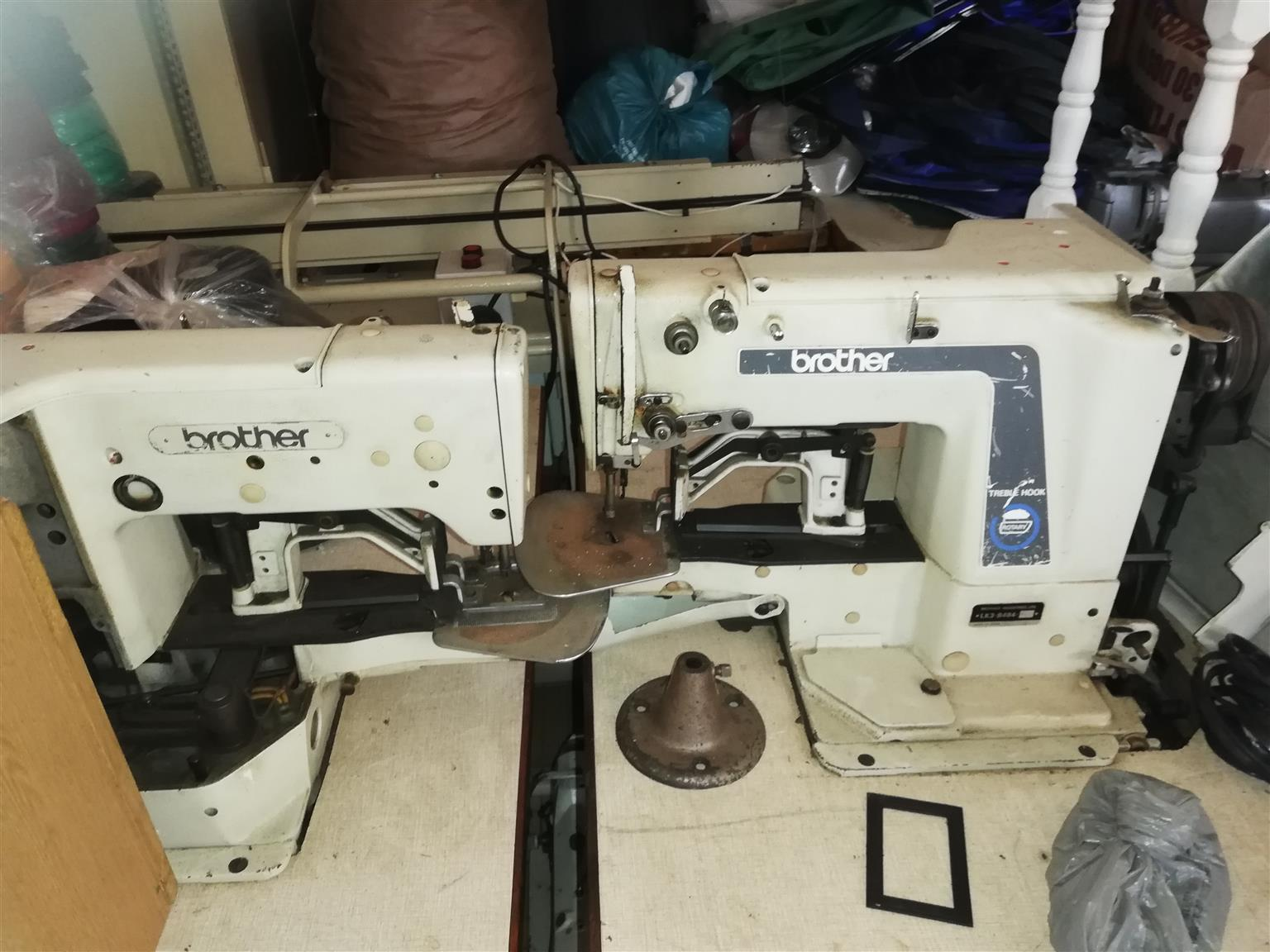 Various Heavy Duty Sewing Machines