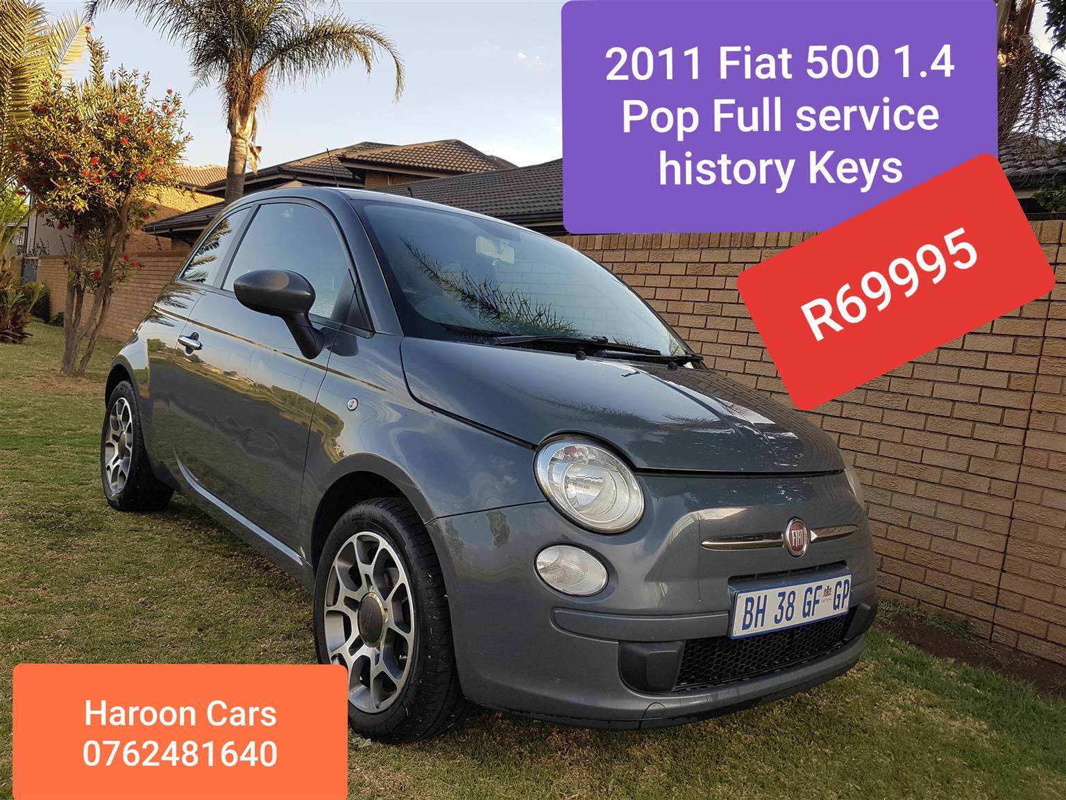 2011 Fiat 500 1.4 Pop