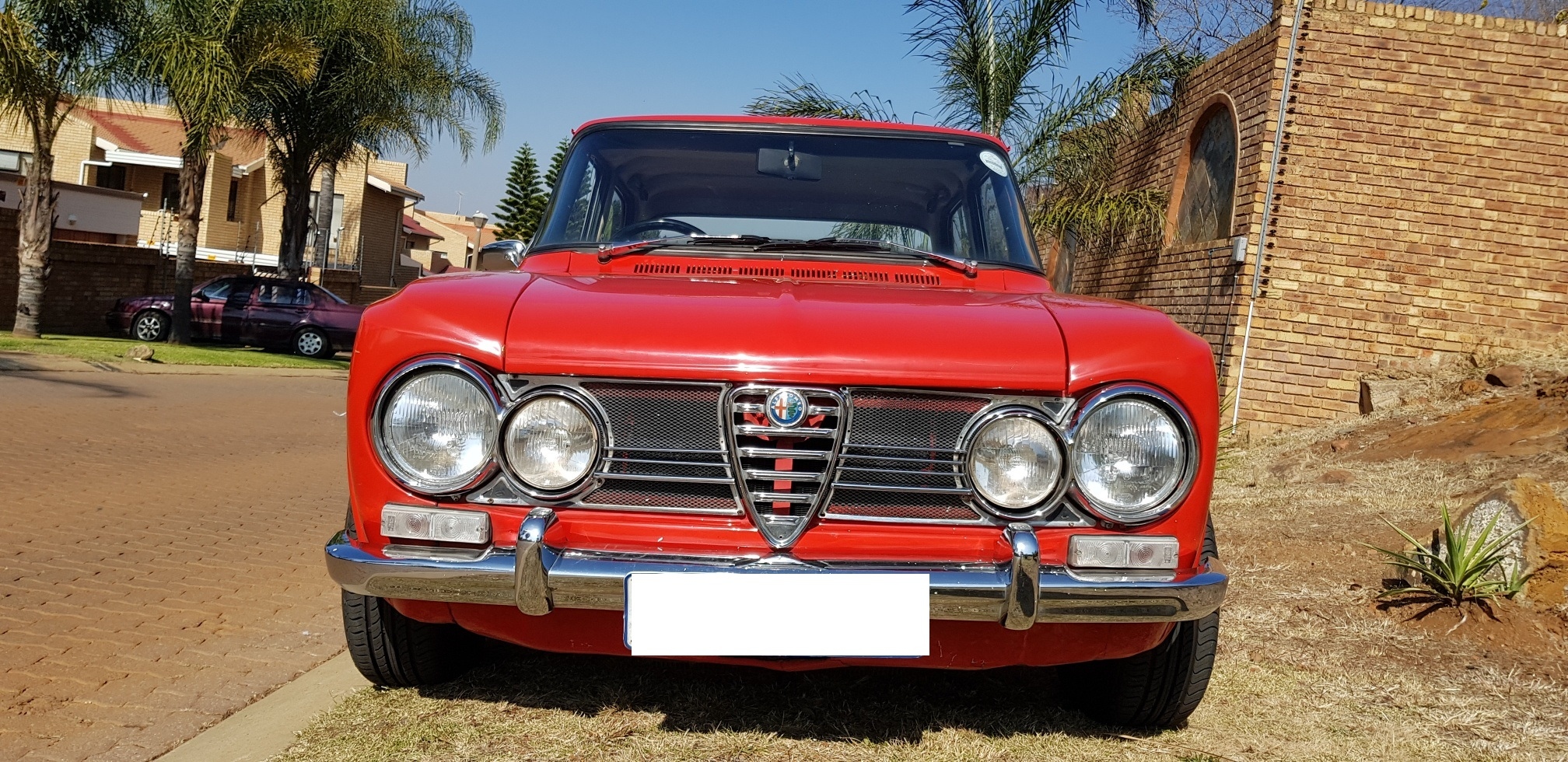 Alfa Romeo Giulia Super Junk Mail - Alfa romeo giulia 1972