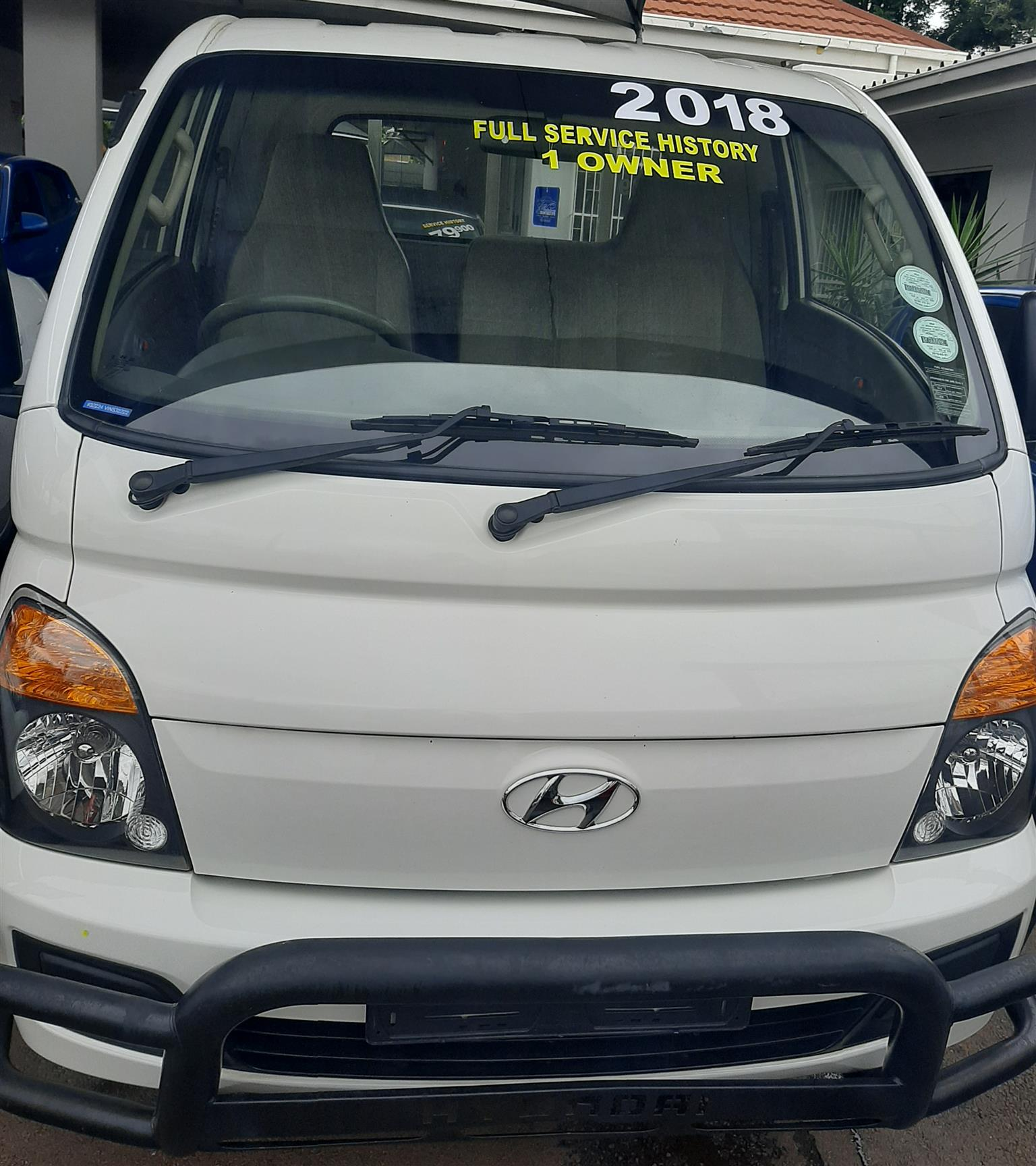 2018 Hyundai H-100 Bakkie 2.5TCi chassis cab