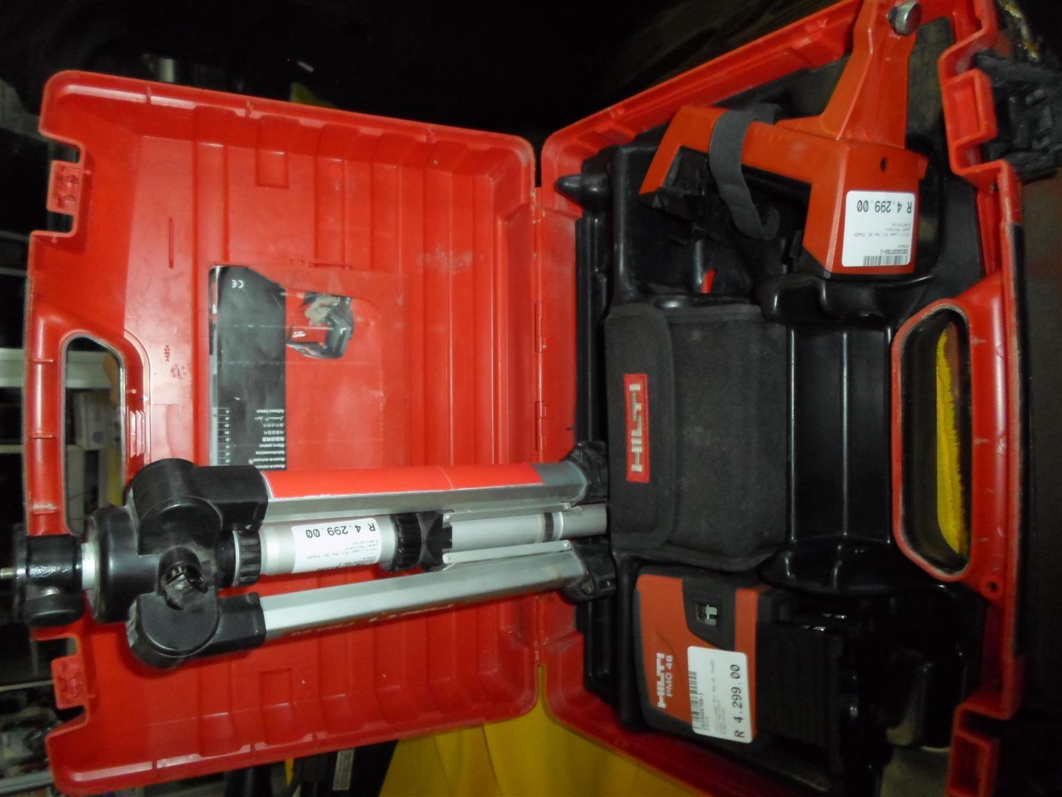 Hilti PMA 20 / PMC 46 Laser Tools