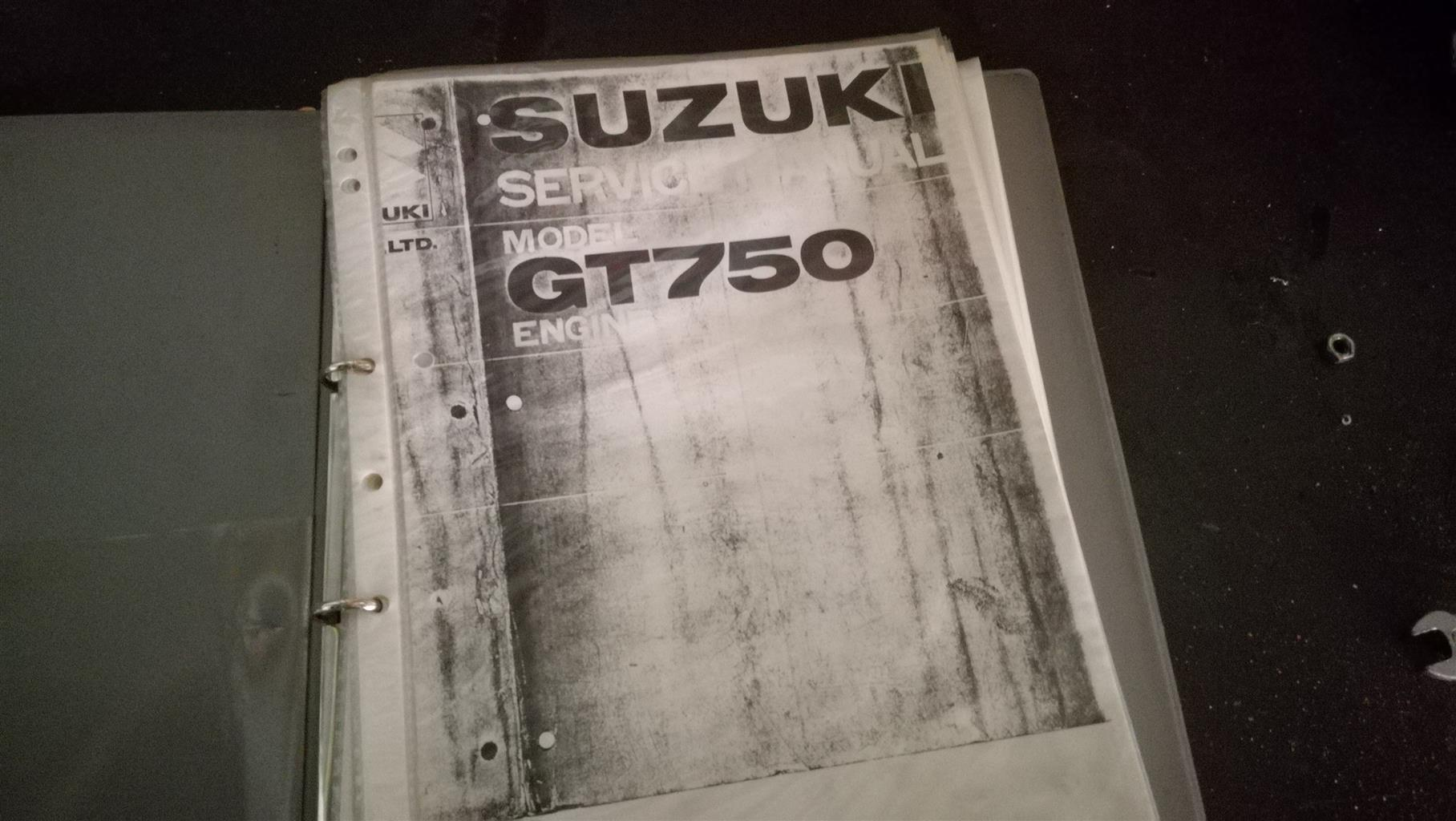 Suzuki GT 750 Bits for sale Only whats in the pics