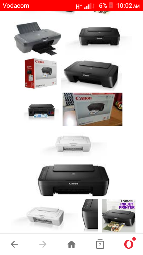 Canon color printer & scanner