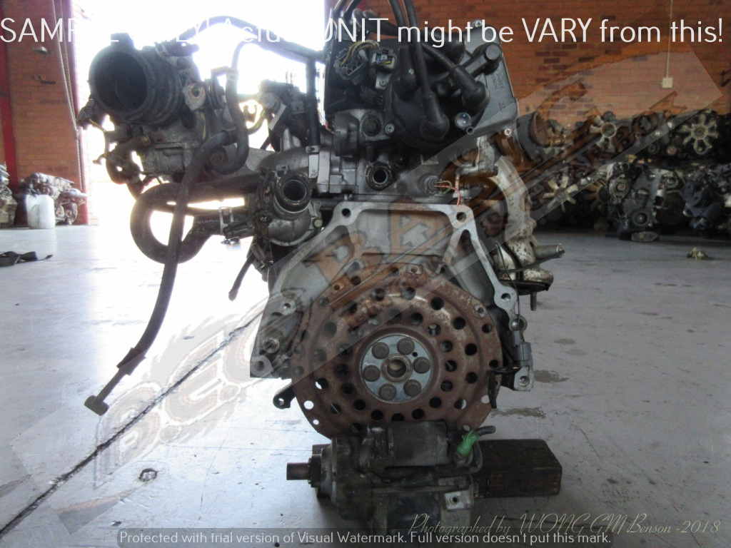 HONDA CIVIC -ZC 1.6L SINGLE CAM EFI 16V Engine