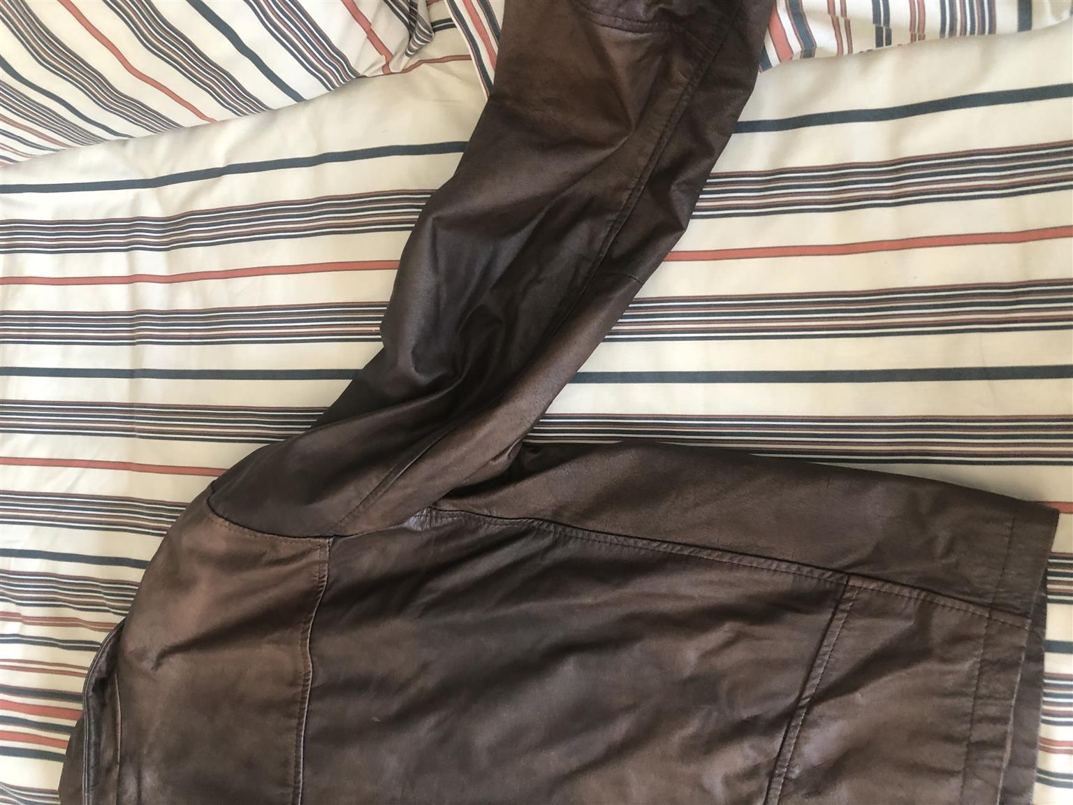 Geniune Leather Jacket made in Argentina. REDUCED