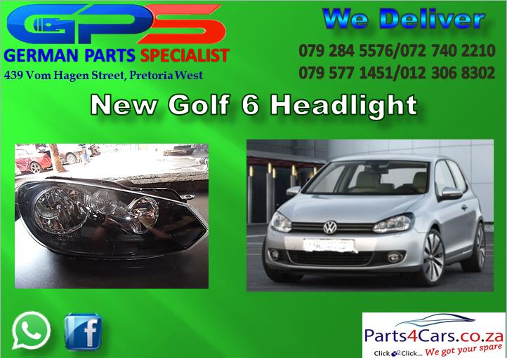 NEW VW GOLF 6 HEADLIGHT FOR SALE