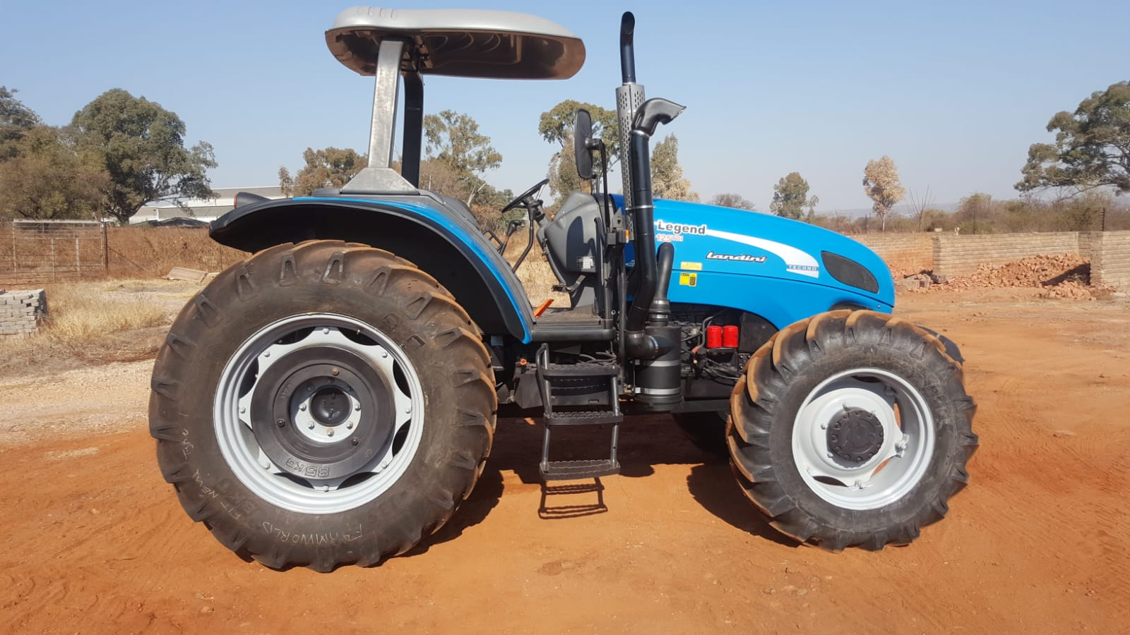 2009 Landini Legend Tractor 4x4 For Sale 125 Horse Power