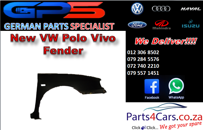 New VW Polo Vivo Fender for Sale