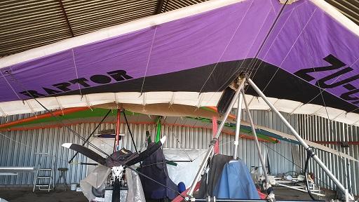 Raptor microlight aeroplane