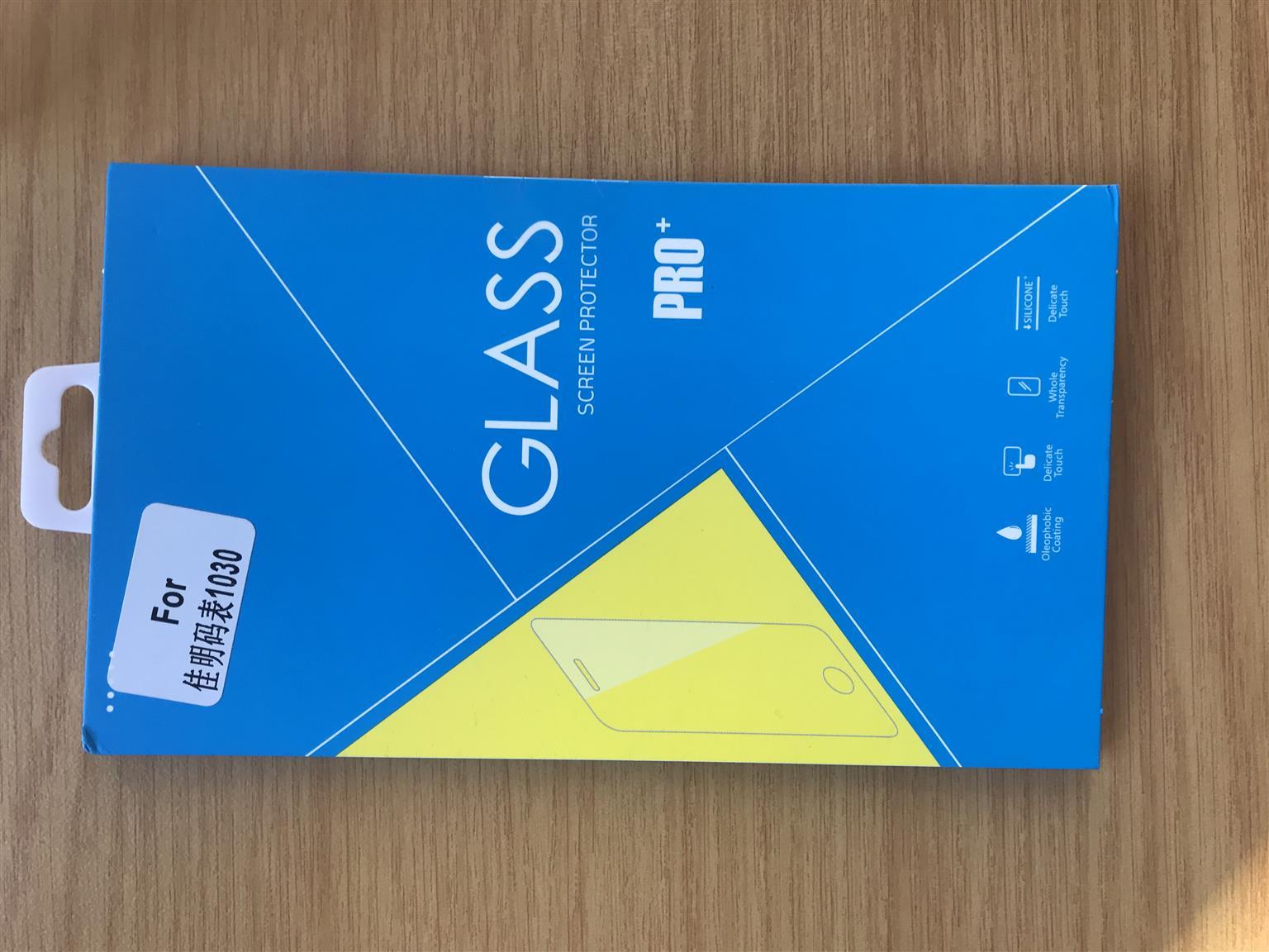 Garmin Edge 1030 Silicone case & glass screen protector