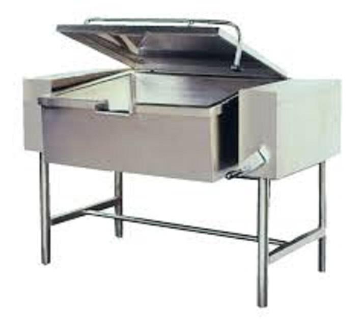 NEW Tilting pan 40 - 80 L
