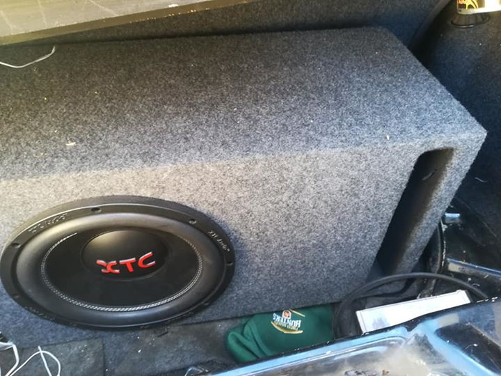 Xtc car sound system complete