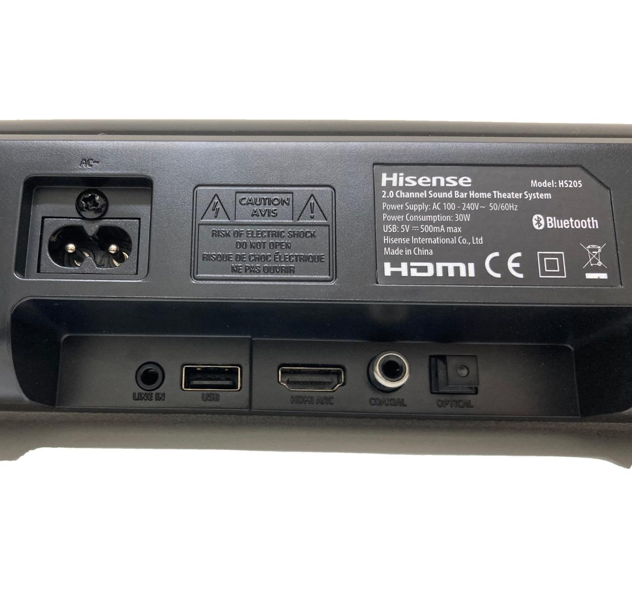 Hisense 2.0 Channel Bluetooth Soundbars forSale!
