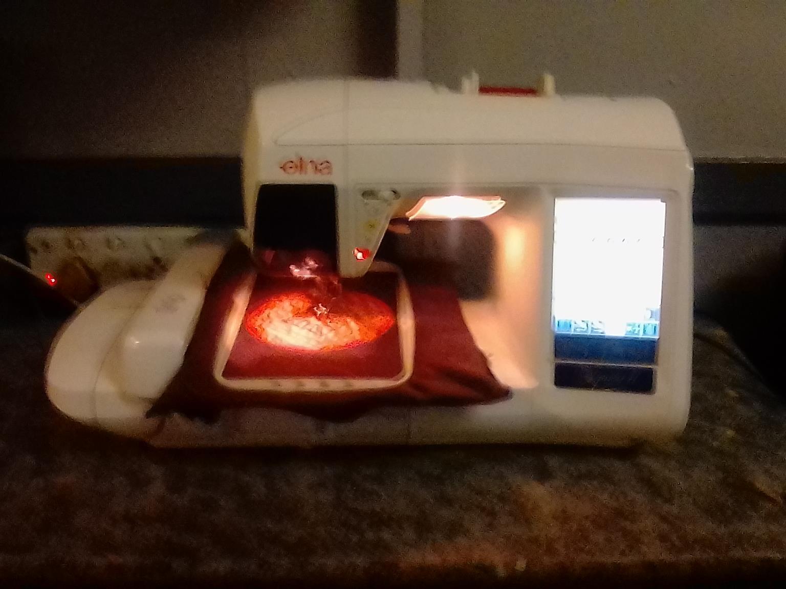 Elna Xuist ii Embroidery Machine