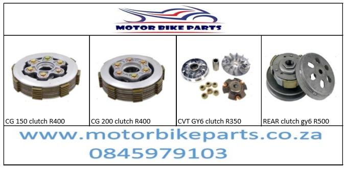 Motorbike parts