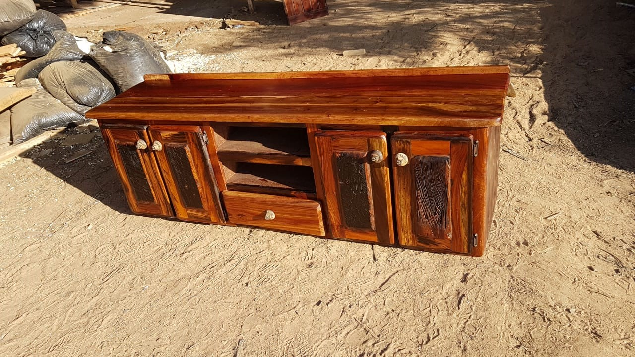 Sleeper Wood TV Cabinet