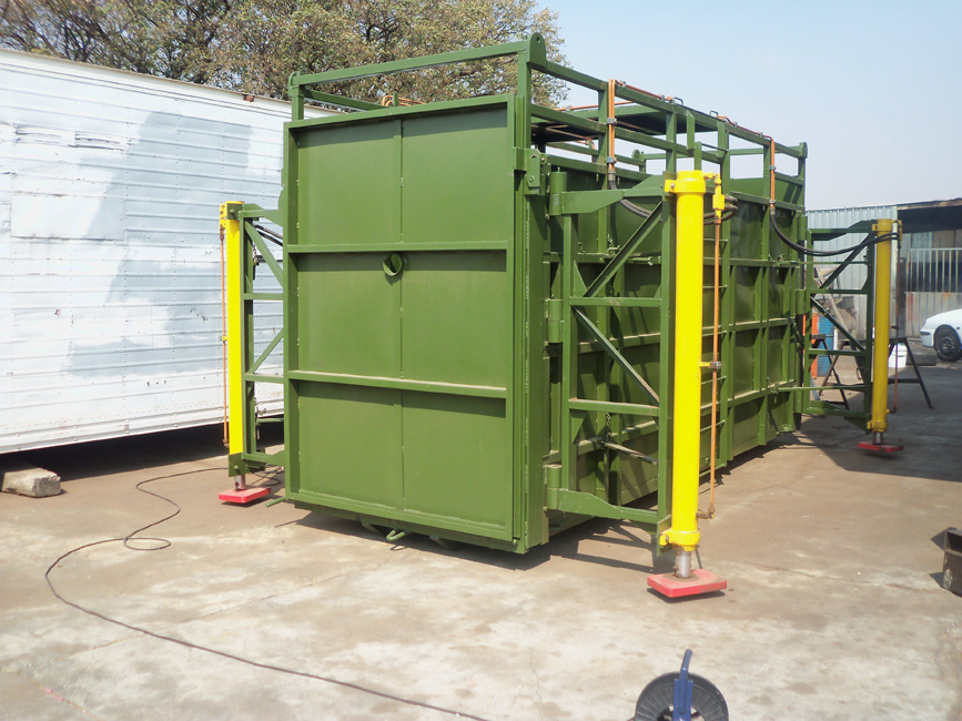 Wild Game Moving Container