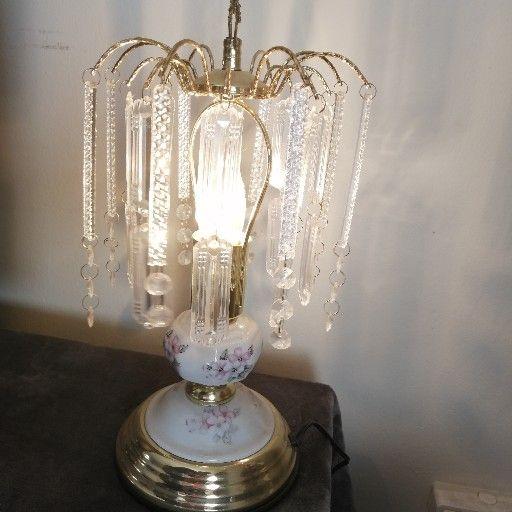 Vintage side lamp