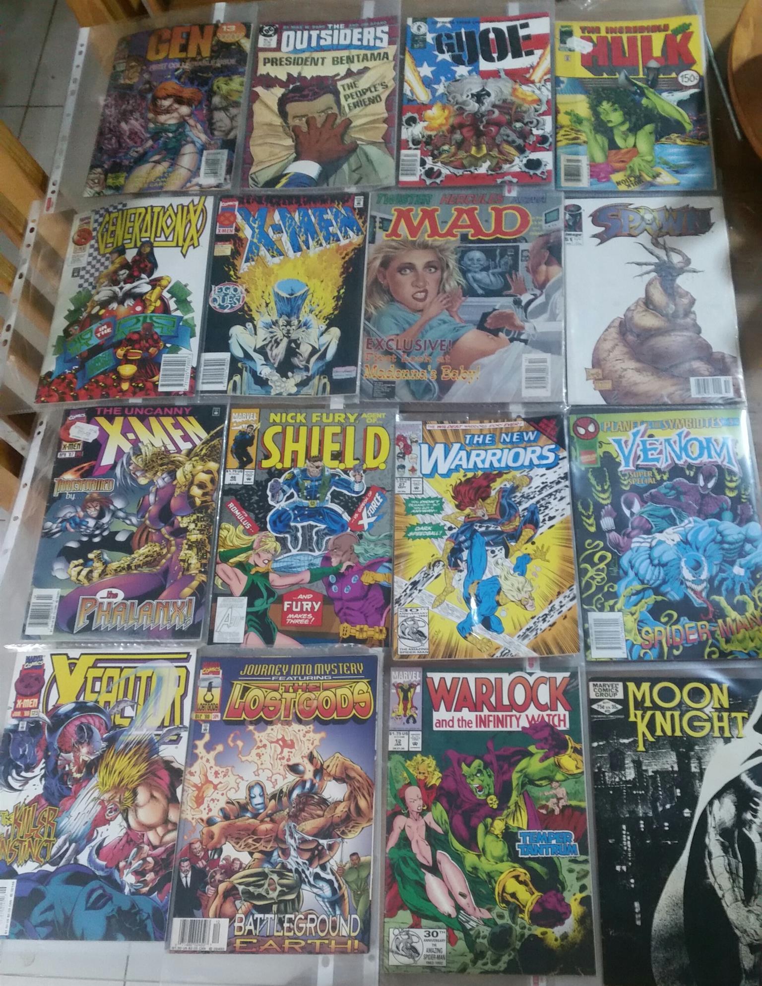24 Comic books for sale