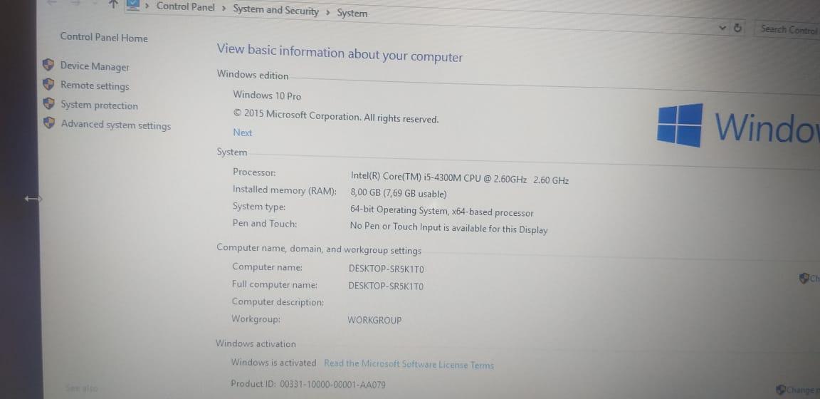 Lenovo ThinkPad T540p Notebook