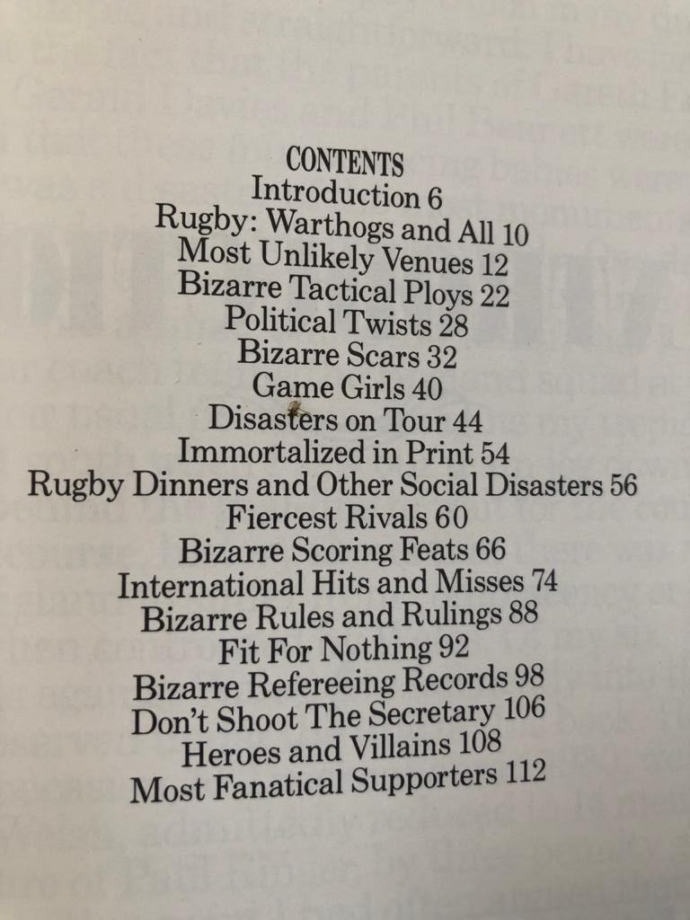 The Book of Rugby Disasters & Bizarre Records by Fran Cotton (Editor), Chris Rhys