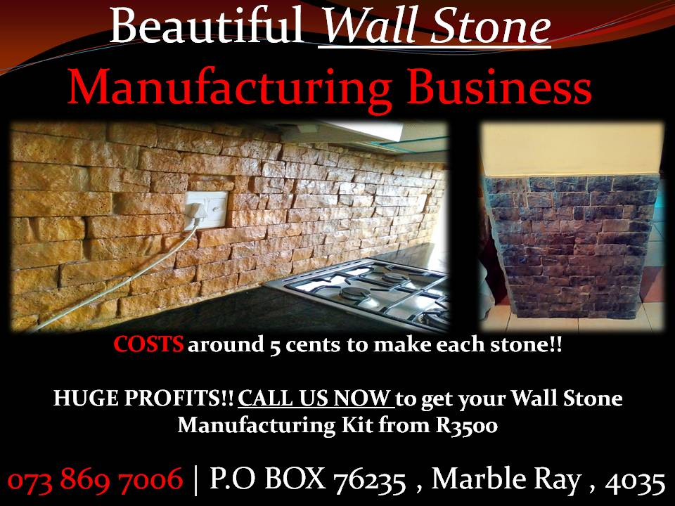 Produce Fancy Wall Cladded Stones MAKE THOUSANDS a week