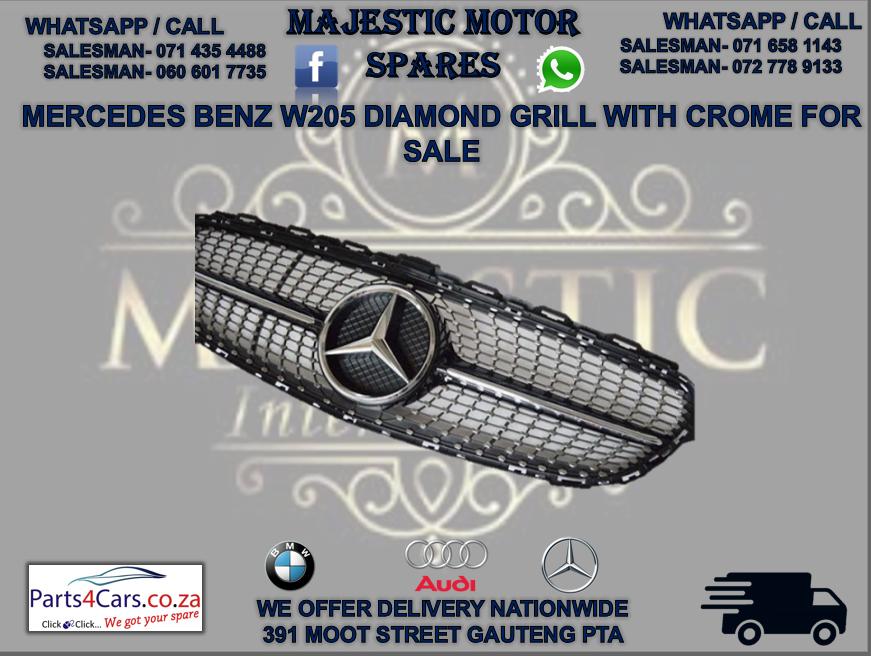 Mercedes W205 bumper grill for sale