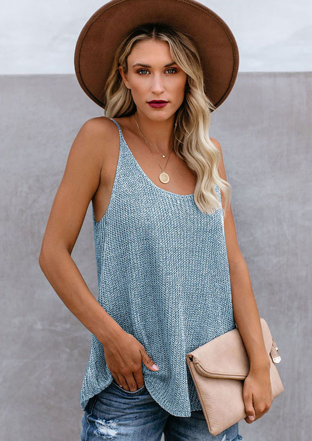 Ladies Tank Knitted Camis
