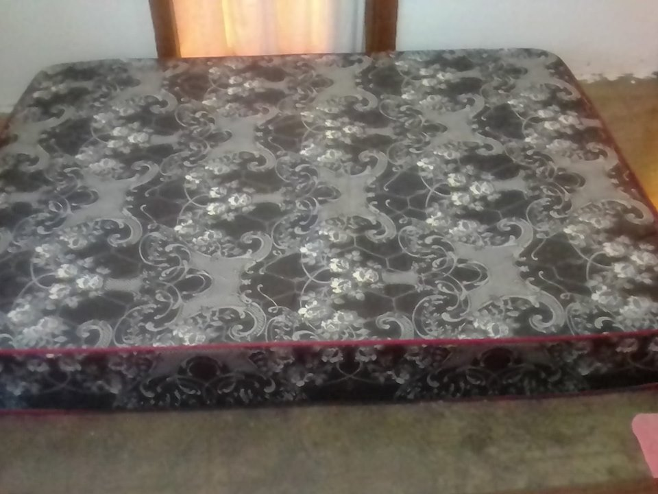 Double bed mattress for sale.
