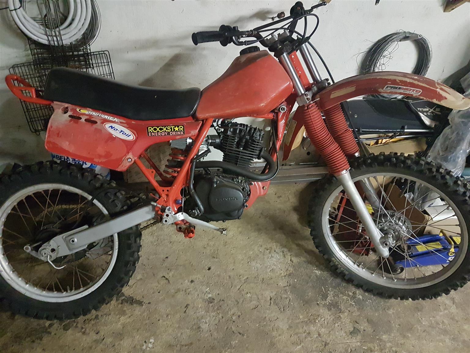 Honda XR 200 for sale