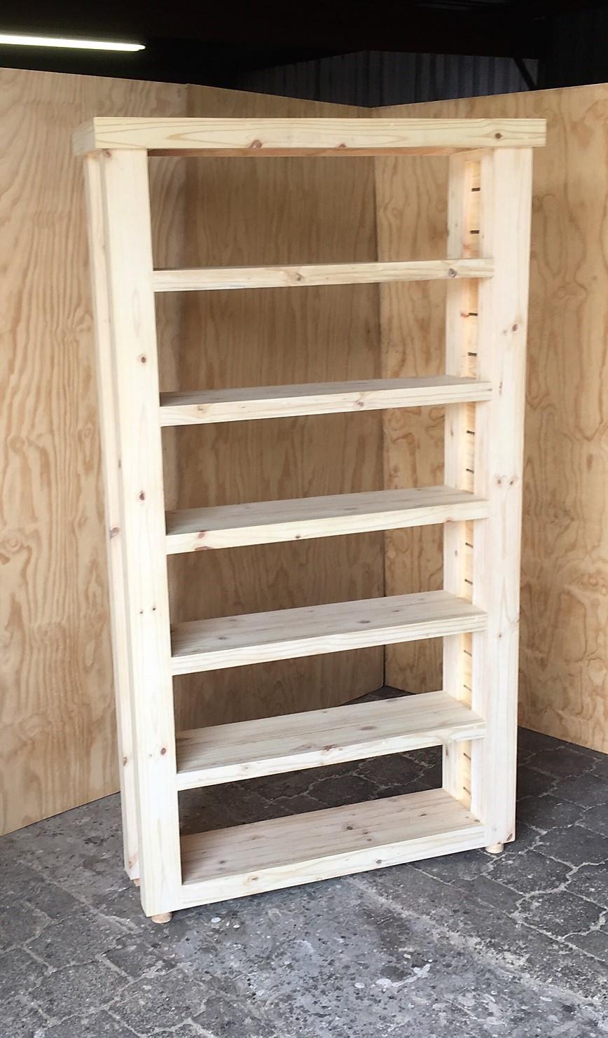 Bookshelf Farmhouse series 1270 Raw