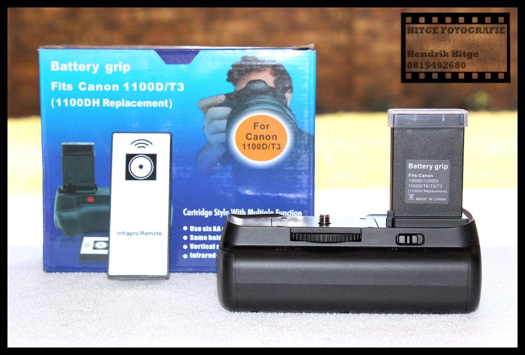 Battery Grip for Canon EOS 1100D - 1200D - 1300D