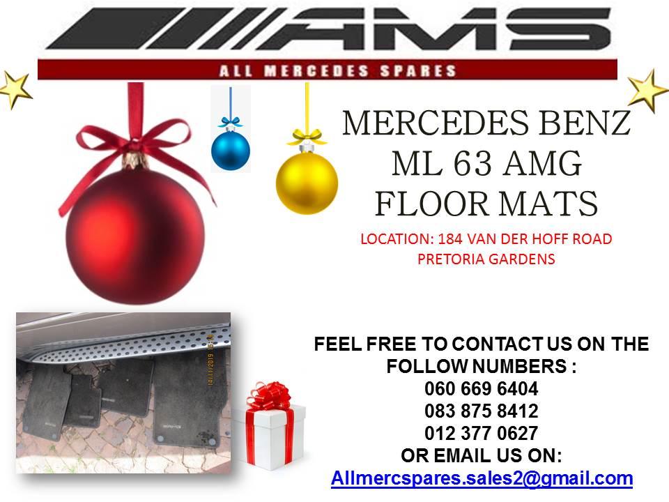 CHRISTMAS SPECIALS !!! MERCEDES BENZ ML 63 AMG FLOOR MATS FOR SALE