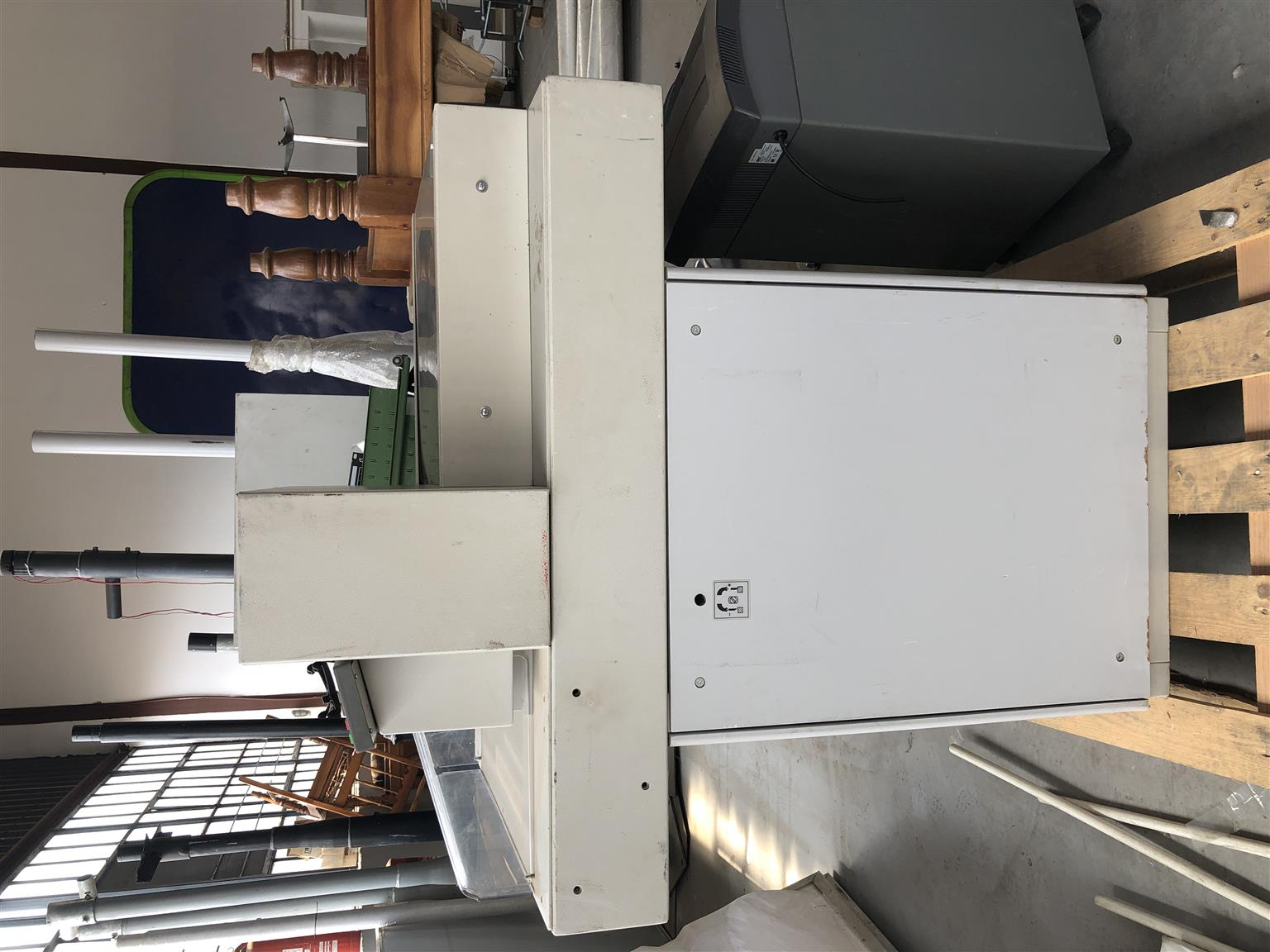 Electric Paper Guillotine IDEAL Germany Model 5221-95 EP