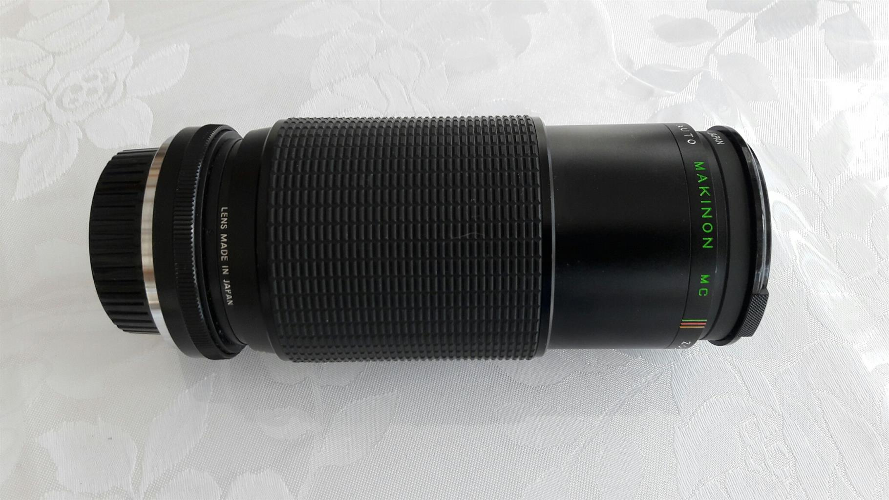 Nikomat 35mm film SLR camera.