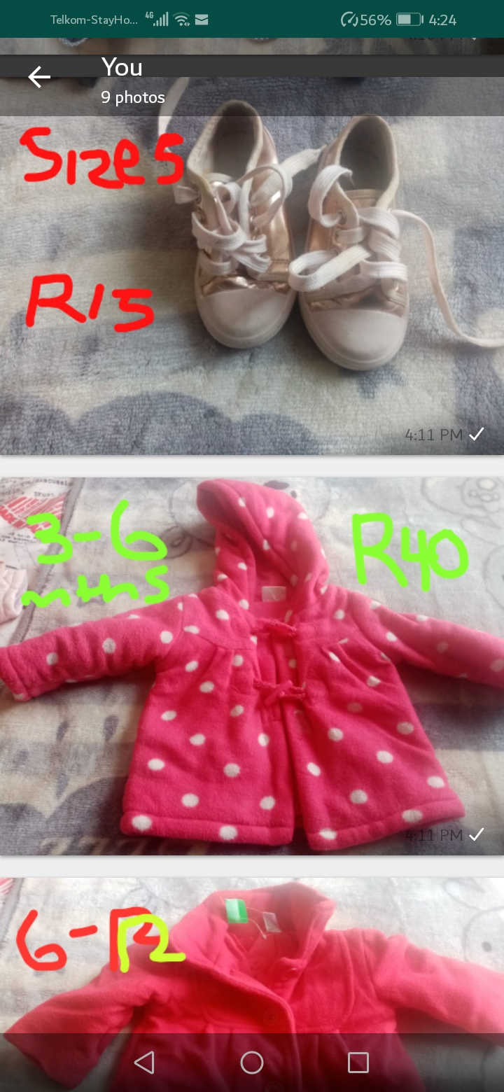 Preloved Baby Clothes For Sale