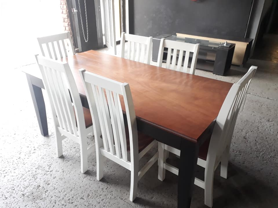 6 Seater Dining Room Table And Chairs Junk Mail