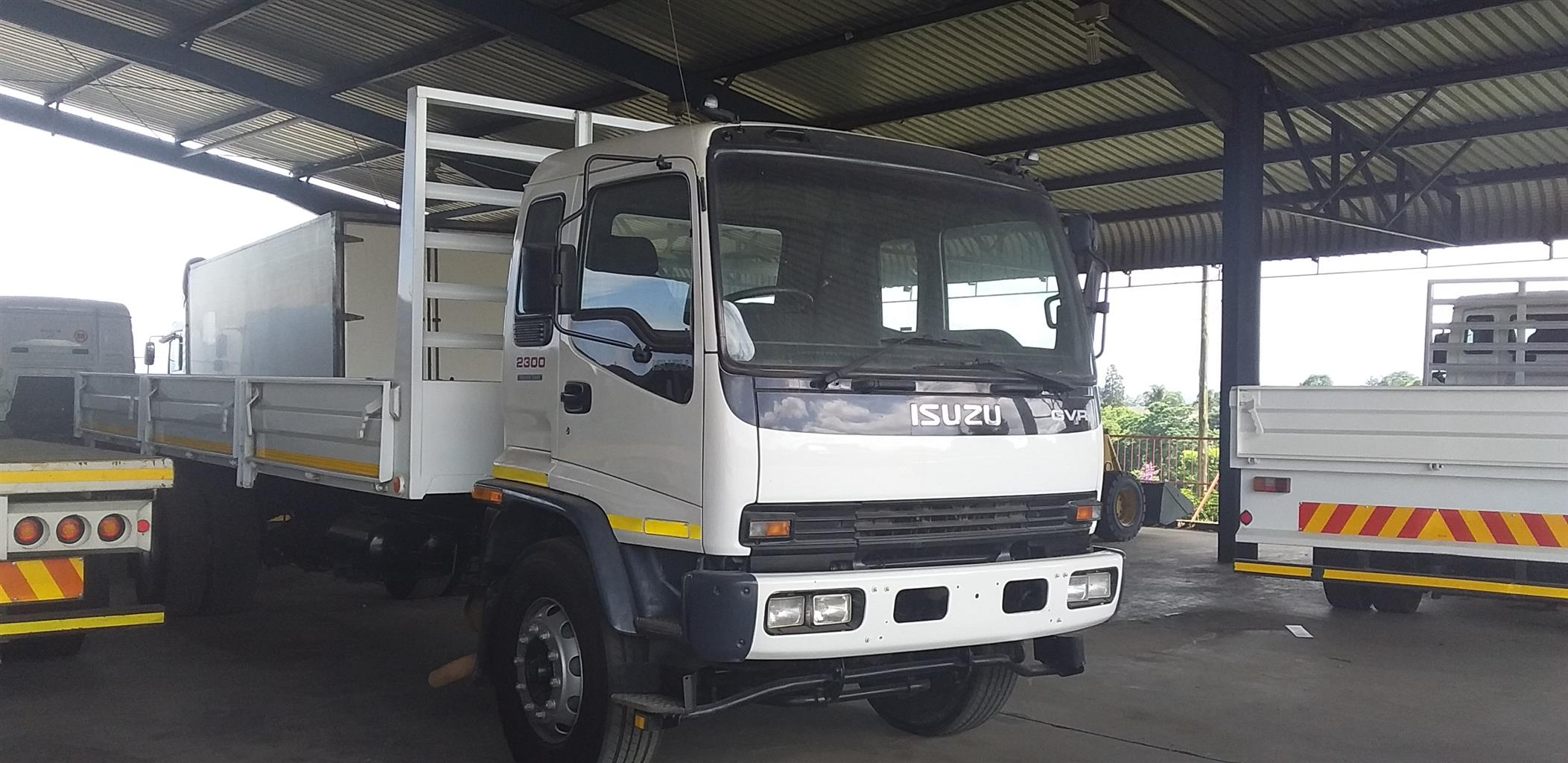 2009 ISUZU GVR 2300 DROPSIDE BODY
