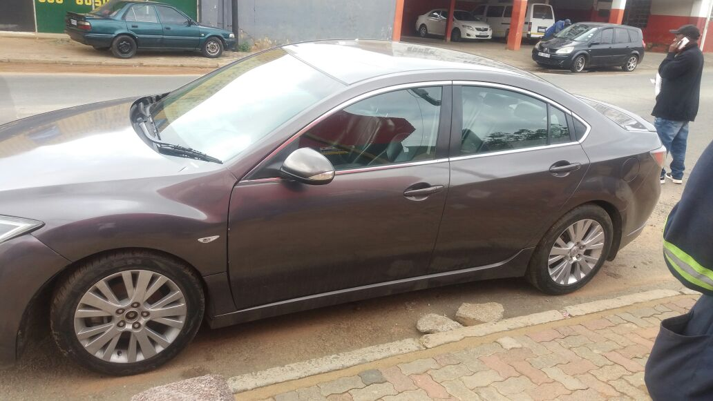 Mazda 6 with L5 Engine Stripping for Spares
