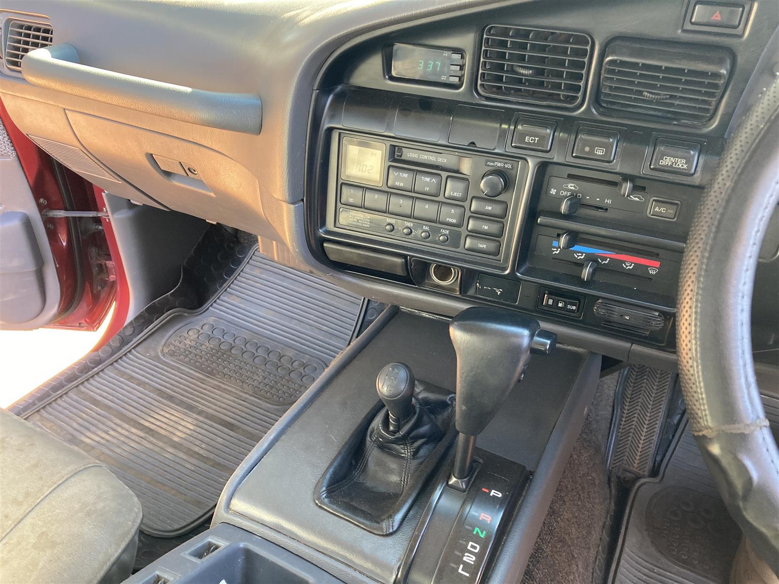 LC80 GXL 4.5 petrol auto
