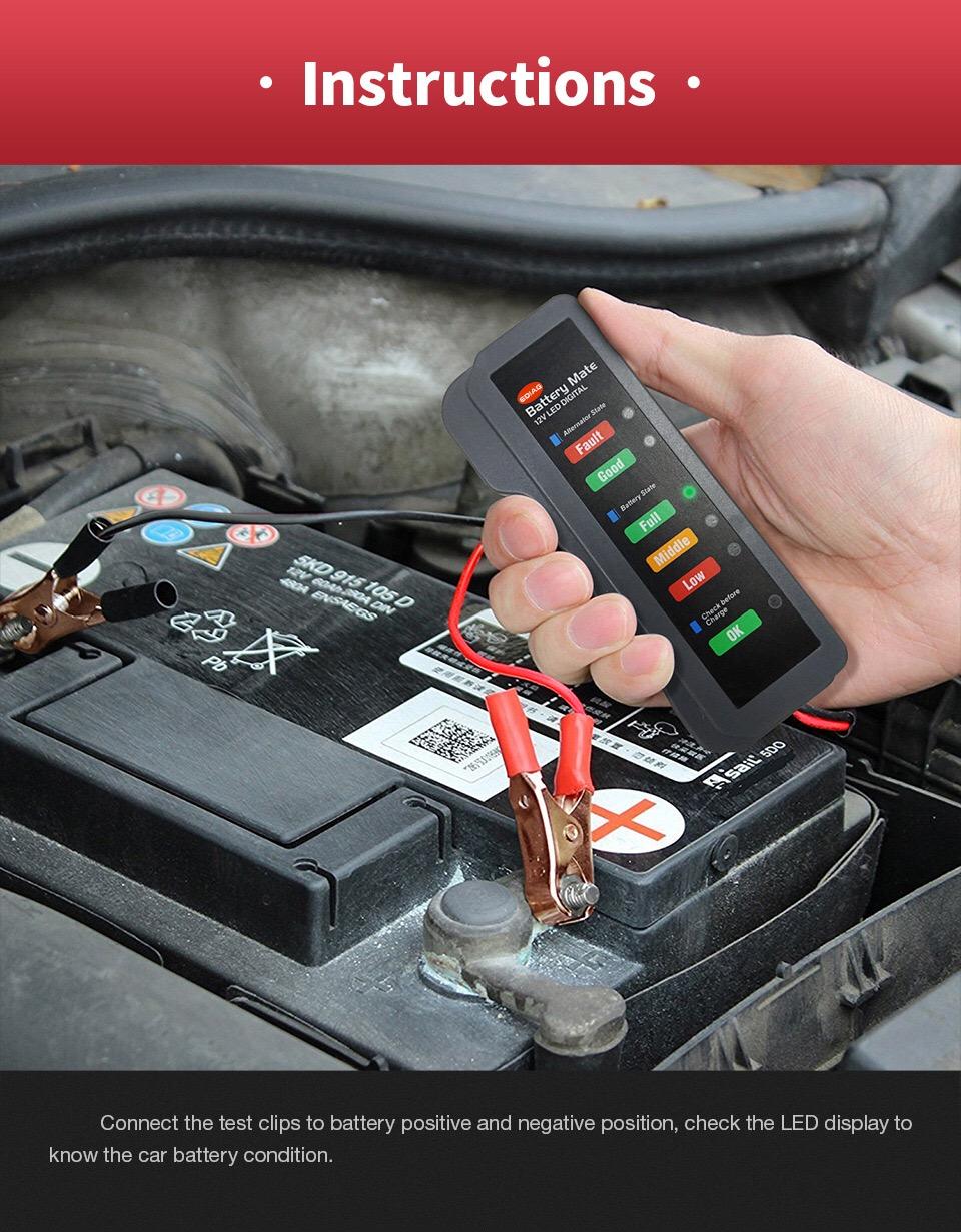 Ediag Battery Mate Battery Tester