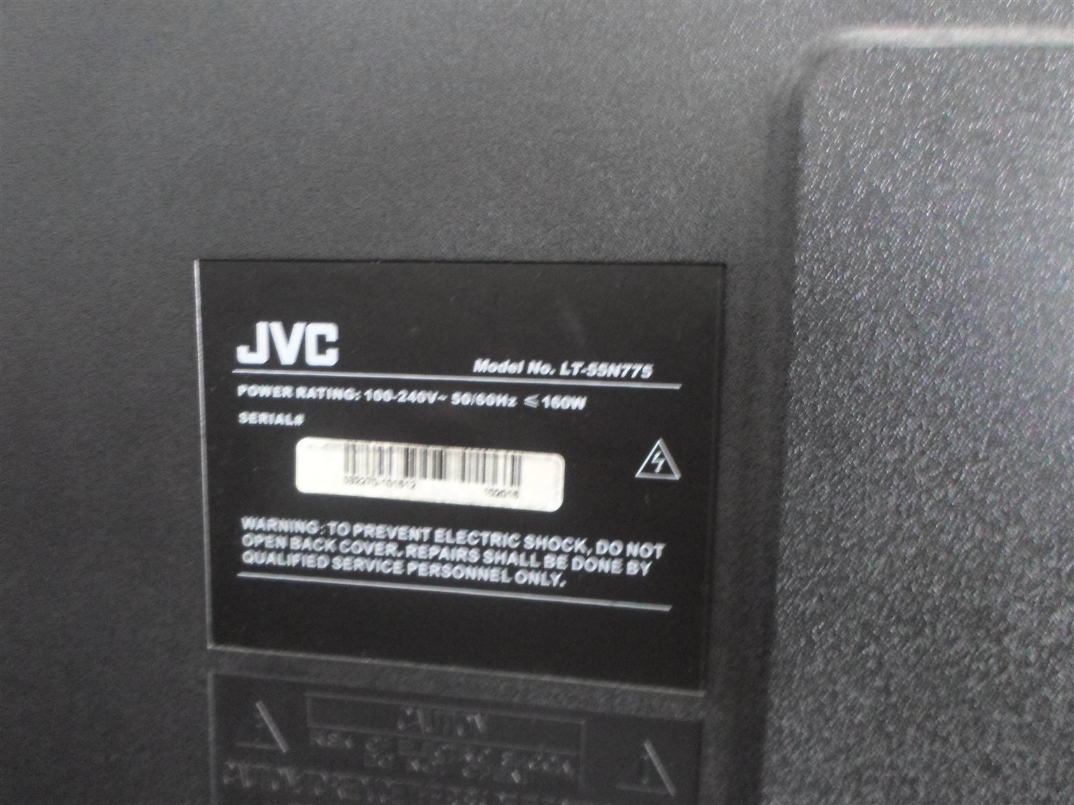 "55"" JVC TV"