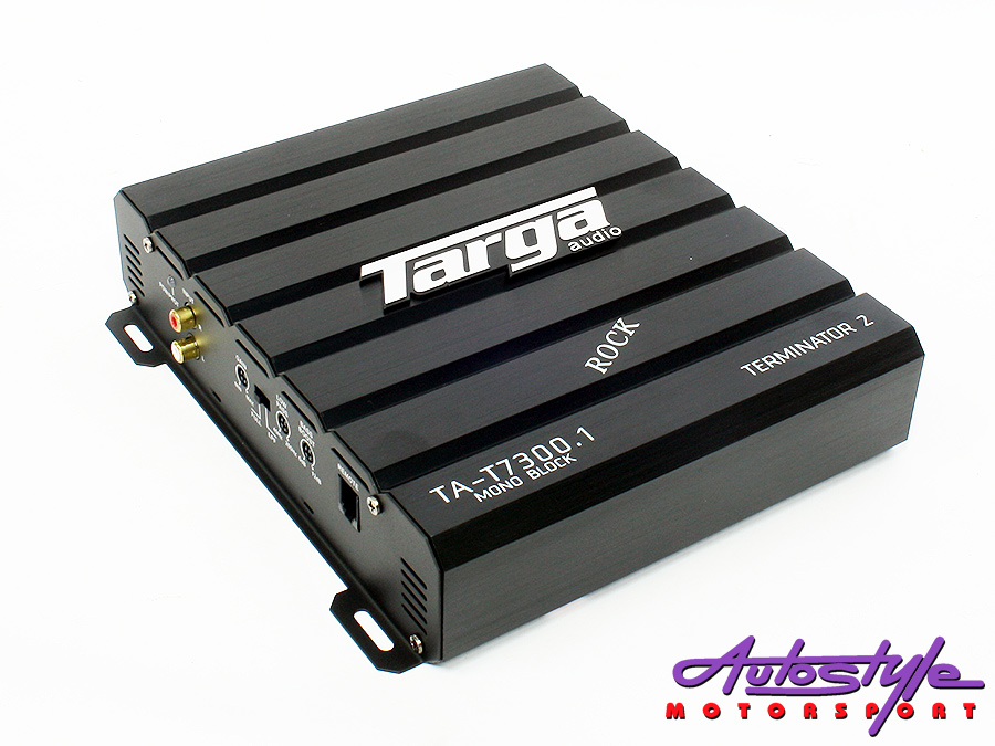 Targa Terminator Series 600rms Class B Monoblock Amplifier