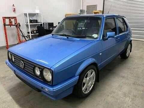 VW CITI GOLF ON AUCTION
