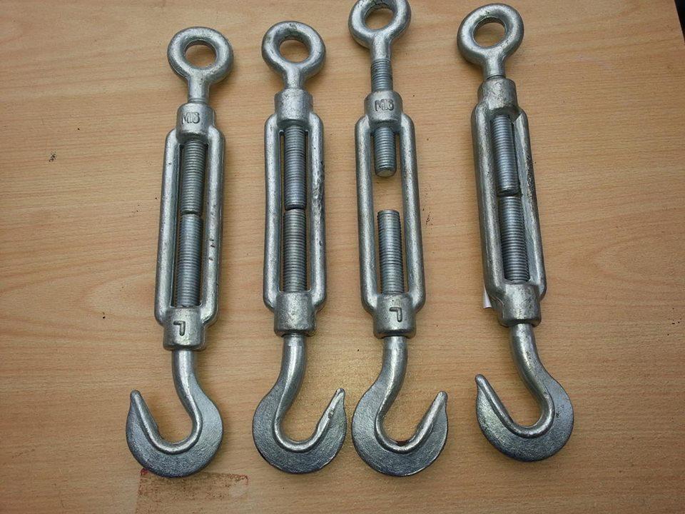 4 Steel hooks for sale