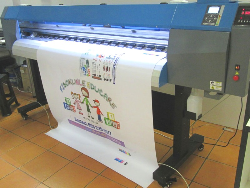 F1-1600 FastCOLOUR ONE 1600mm Printing Area Large Format Printer Barebone Unit, No