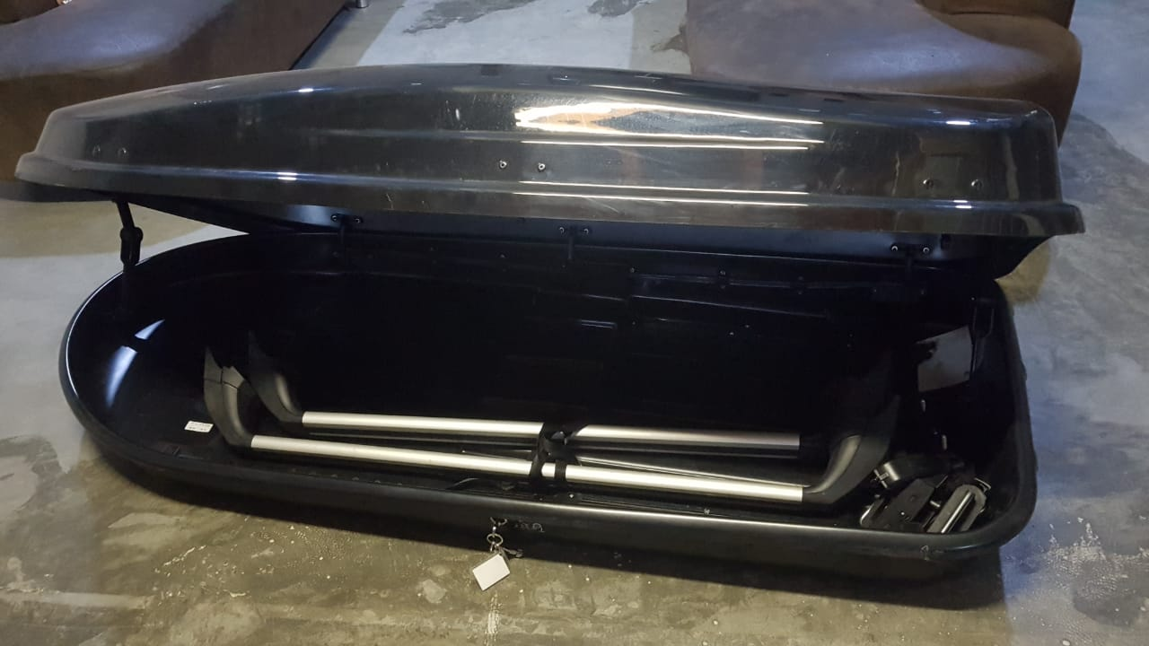 Renault Roof Box, Touring Line Back