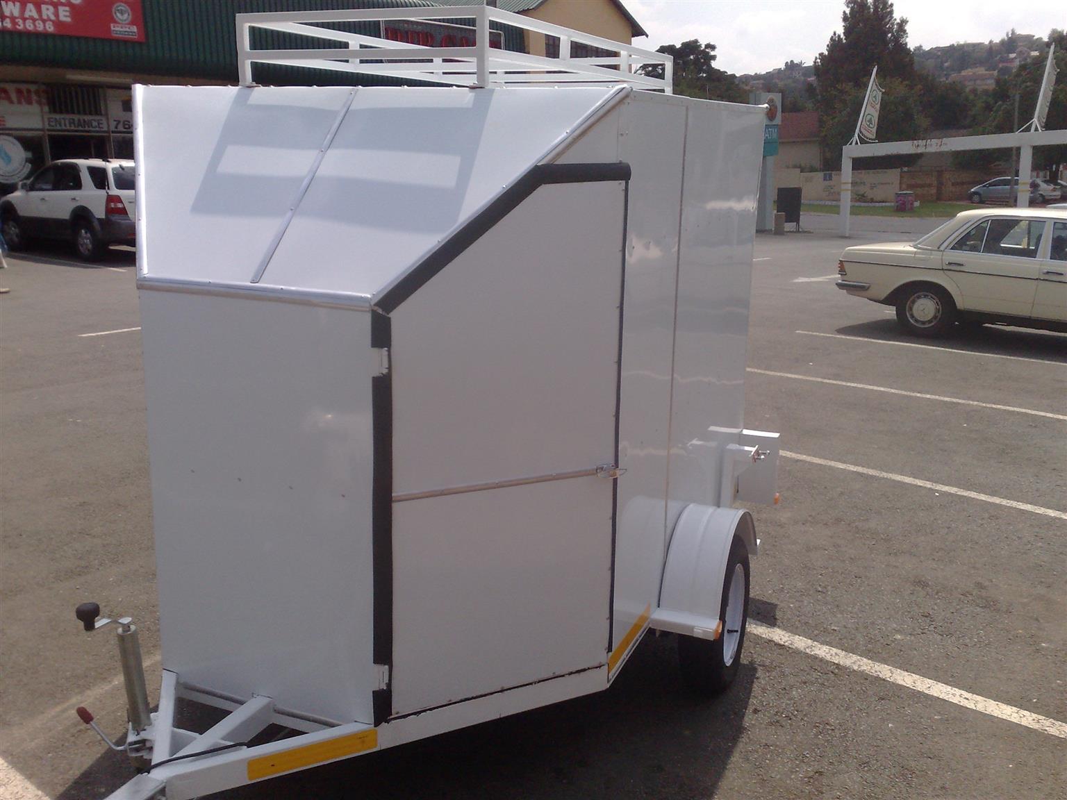 Box Enclosed Trailers