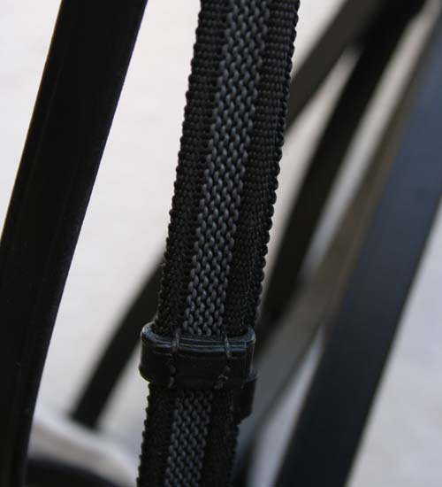 PADDED BRIDLE (WHITE INLAY)